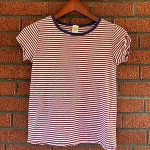 We the Free Claire Clare Striped Tee Size XS